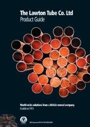 Lawton copper tube product brochure