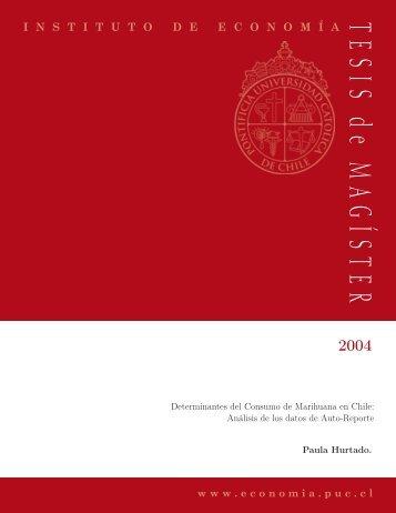 Bajar PDF - Instituto de Economía - Pontificia Universidad Católica ...