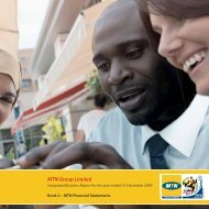 MTN Financial Statements - MTN Group