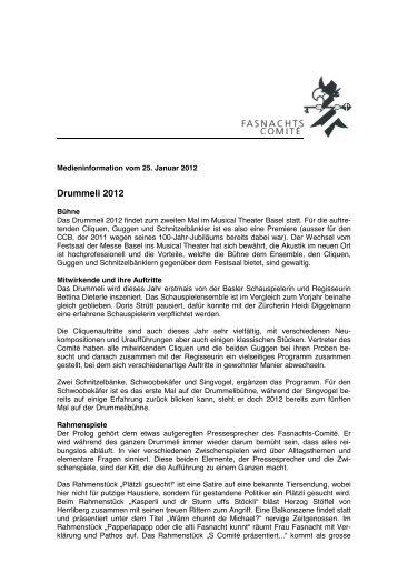 MM Drummeli 2012_25 1 2012 - Basler Fasnachts Comité