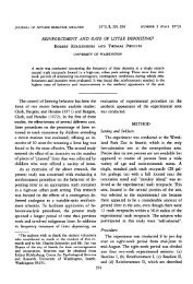 Robert Kohlenberg and Thomas Phillips. - National Center for ...