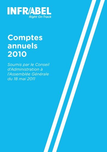 Rapport financier 2010.pdf - Infrabel