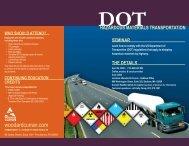 dot hazardous materials transportation who should attend?