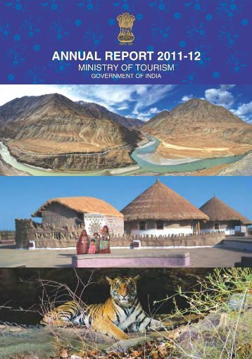annual report 2011-12 - Ministry of Tourism