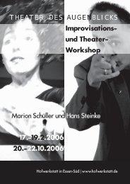 Angebote 2006 - Schüller Theater