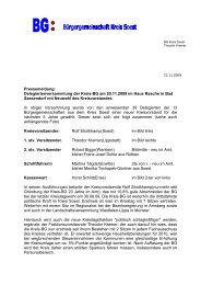Pressebericht als PDF - Kreis BG Soest