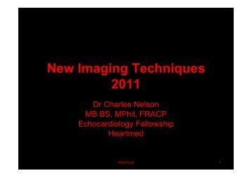 New Imaging Techniques 2011