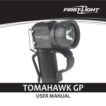 Tomahawk GP Users Manual (697 KB) - First-Light USA
