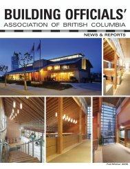 Fall/Winter 2005 - Building Officials' Association of BC