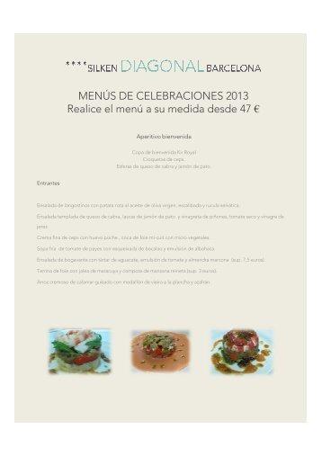 Carta Menús Celebración (pdf) - Hoteles Silken