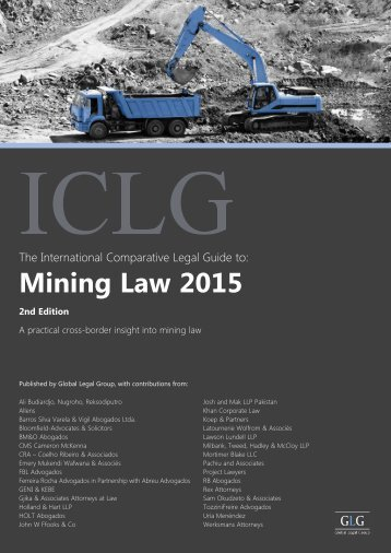 454_The International Comparative Legal Guide to Mining Law 2015