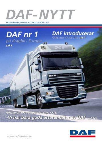 Daf nr 1 - DAF lastbil