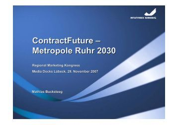ContractFuture – Metropole Ruhr 2030 - Regional-Marketing ...