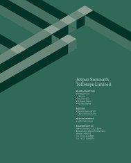 jetpur Somnath Tollways Limited - IDFC