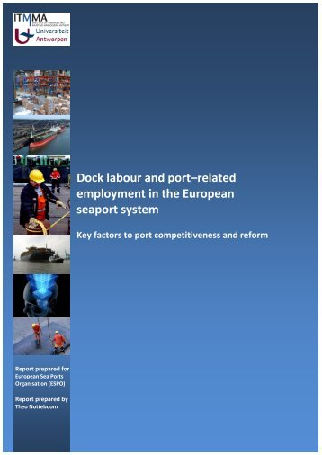 Dock labour and port–related employment in the European seaport ...