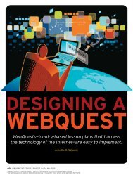 Design a Web Quest - Willoughby-Eastlake City Schools