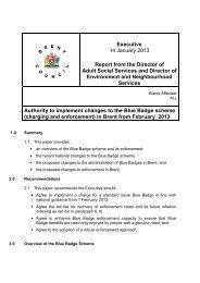 Blue Badge Scheme PDF 158 KB - Brent Council