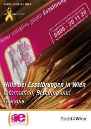 Hilfe bei Essstörungen in Wien Information, Beratung und Therapie