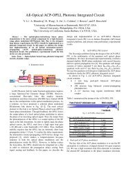 All-Optical ACP-OPLL Photonic Integrated Circuit