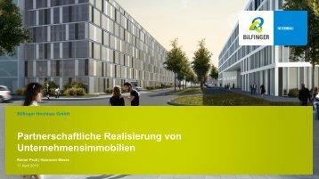 Partnerschaftliche Realisierung von ... - Bilfinger