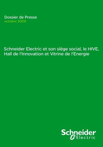 Schneider Electric et son siège social, le HIVE, Hall de l'Innovation ...
