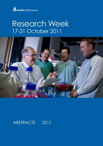 Research Week - Austin Health