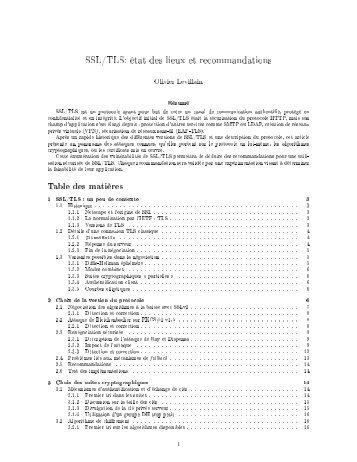SSL_TLS_etat_des_lieux_et_recommandations