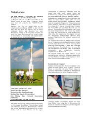 Teil Bau - ARGOS - Advanced Rocketry Group of Switzerland
