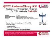 Sonderausführung LKW - Rösner KFZ Werkzeuge