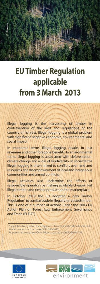 EU Timber Regulation - European Commission - Europa