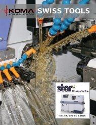 Star Swiss Live Tools - Koma Precision, Inc.