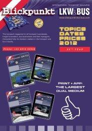 TOPICS DATES PRICES 2012 - Blickpunkt LKW + BUS