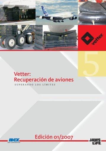 Vetter: Recuperación de aviones Edición 01/2007