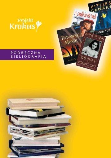 15323b Crocus booklistPOLISH:1 - Holocaust Education Trust Ireland