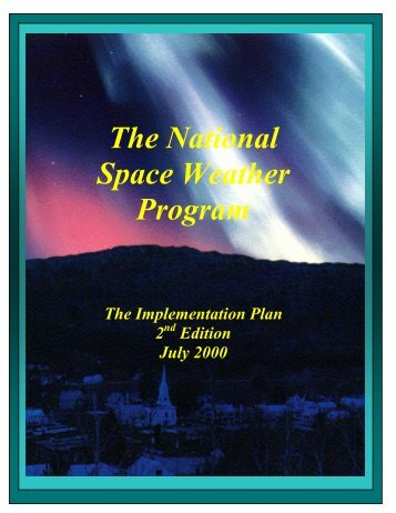 NSWP Implementation Plan - Office of the Federal Coordinator for ...