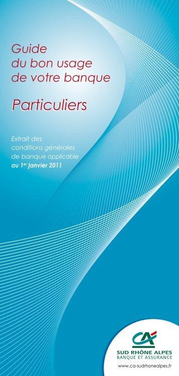 Particuliers - Crédit Agricole Sud Rhône Alpes