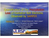 Quantification of the Precipitation Loss of Radiation Belt Electrons ...