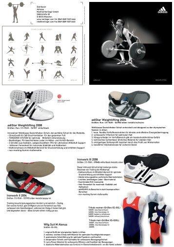 Wtlg Suit M Atenus adiStar Weightlifting 2008 ... - Manfred Nerlinger