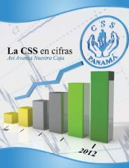 Informe Financiero en formato PDF - Caja del Seguro Social
