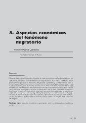 aspectos económicos del fenómeno migratorio - Cáritas Española