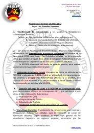 Programa de Gestión UEJJYDA 2012 Ángel Luis González ...
