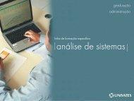 analise de sistemas - Univates