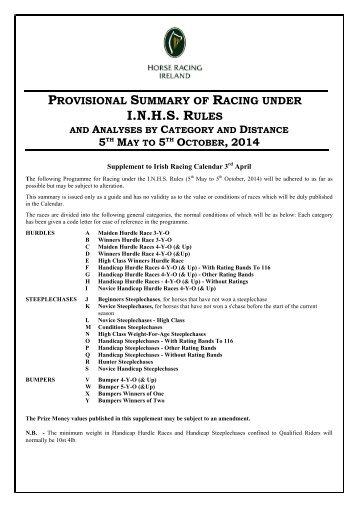NH Provisional Summary May-Oct 2014