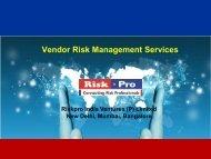 Vendor Risk Management Services - Riskpro