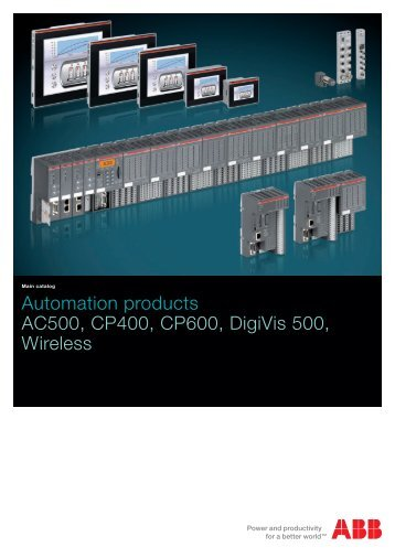 AC500, CP400, CP600, DigiVis 500, Wireless Catalog - Gerrie Electric