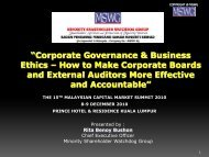 Corporate Governance & Business Ethics