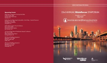 Conference Program - WateReuse Association