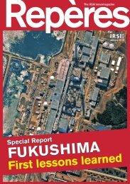 IRSN Newsmagazine Reperes - Fukushima special report