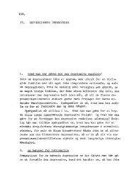 IV. Depressioners imødegåelse Referenceliste ... - engelsted.net