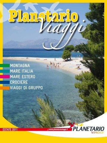 montagna mare italia mare estero CroCiere ... - Planetario Viaggi
